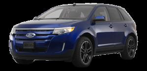 ford edge - blue