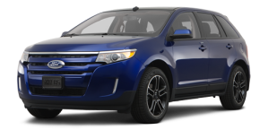 ford edge - blue